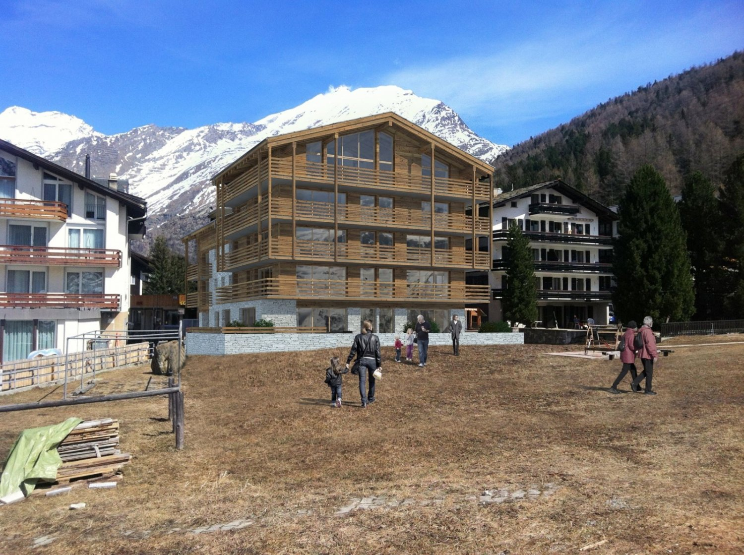 Hotel derby saas fee mls architekten sia ag for Derby hotels